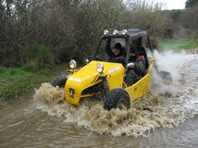 Two-seater buggy route for Christmas La Campiña 1h