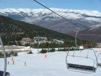 Segway por la nieve ruta de 30 min en La Molina
