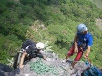 escalando paredes