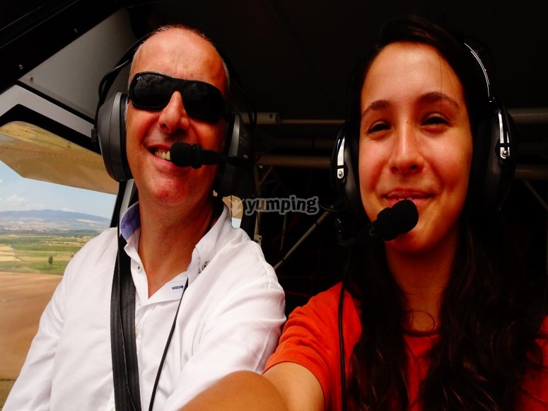 Be a pilot for a day in Navarra