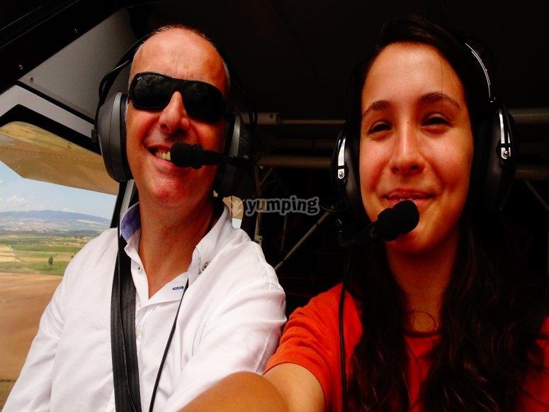 Piloto por un dia en Navarra