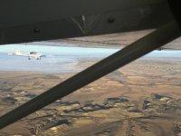 Pilota un ultraligero durante 20 minutos en Tudela