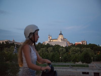 120 minute segway tour in Madrid Río