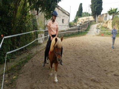 Salida a caballo por la Sierra de la Marina 60 min
