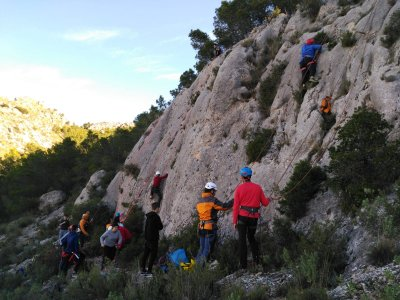 Sport climbing in Valencia 4 hours