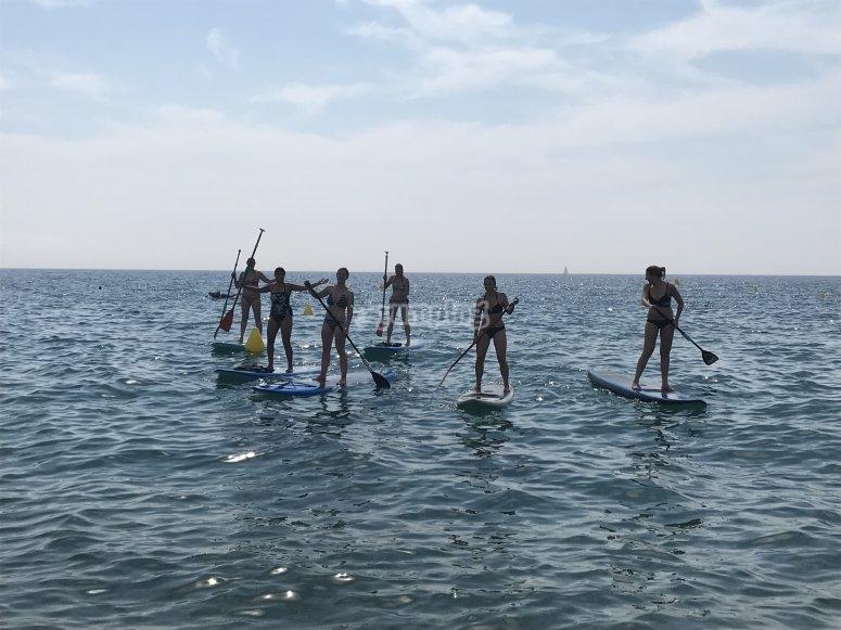 Sailing across Costa Brava