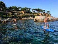 从Platja d'Aro划船冲浪路线90分钟