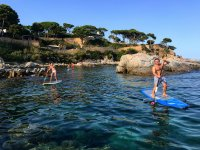 Paddlesurf tour from Platja d'Aro 90 minutes