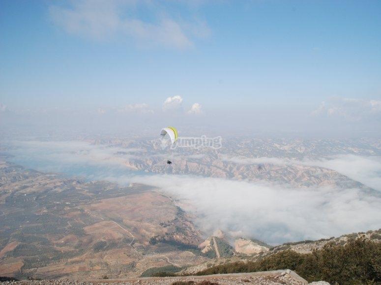 Sobrevolando Granada