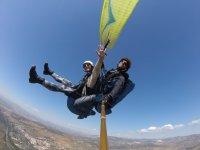 Paragliding begginers in Sierra Nevada 10 min