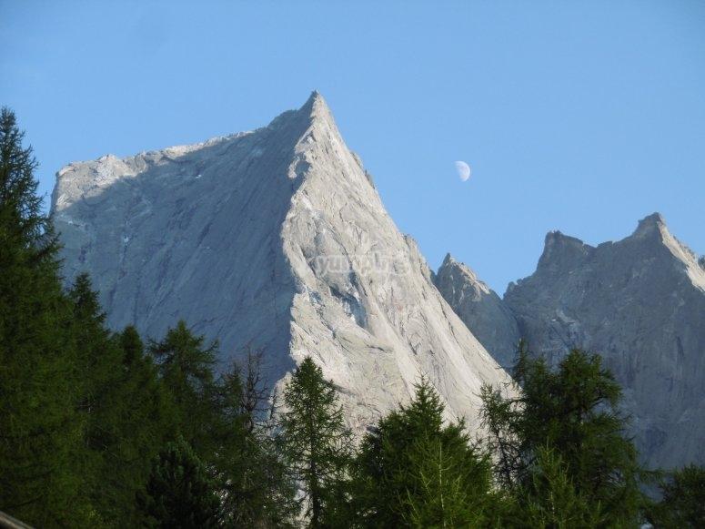 Pico de una cumbre