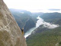 Escalada con vistas espectaculares