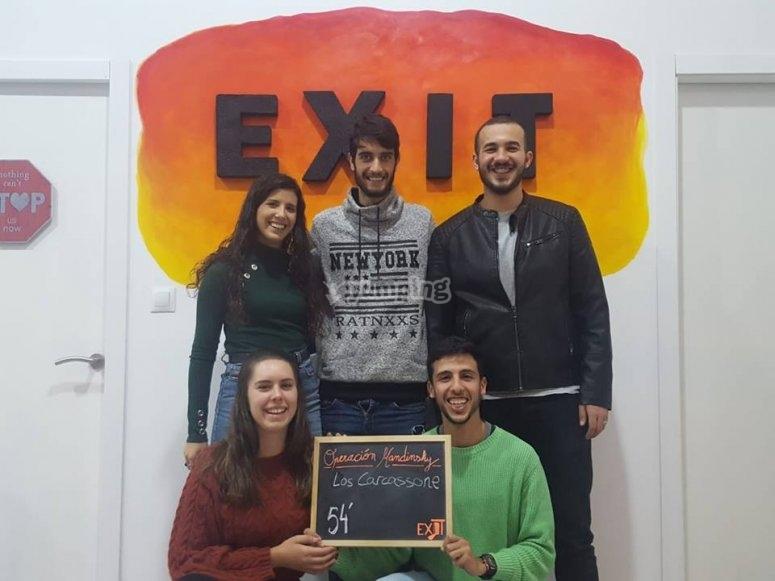 Gran equipo Escape Nueva Malaga