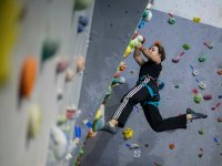 90 minute session at climbing wall in Dos Hermanas