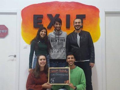 Sesión golfa de escape room Op. Kandisky en Málaga