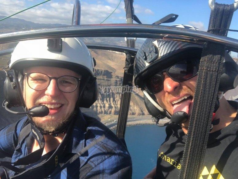 飞行员和同伴