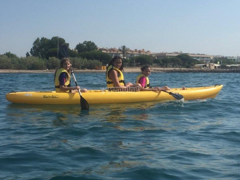 La ruta en canoa por el Mediterráneo