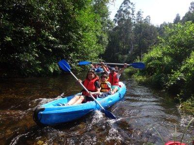 In canoa lungo il fiume Eo Abres 2 ore e mezza