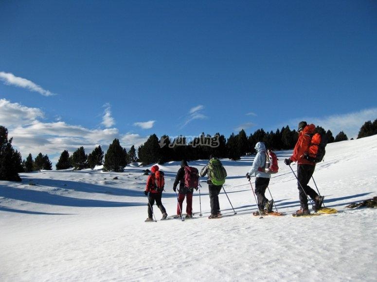 Raquetas de nieve en Andorra