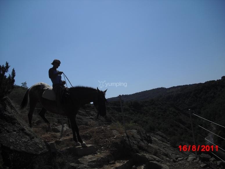 Paisajes a caballo