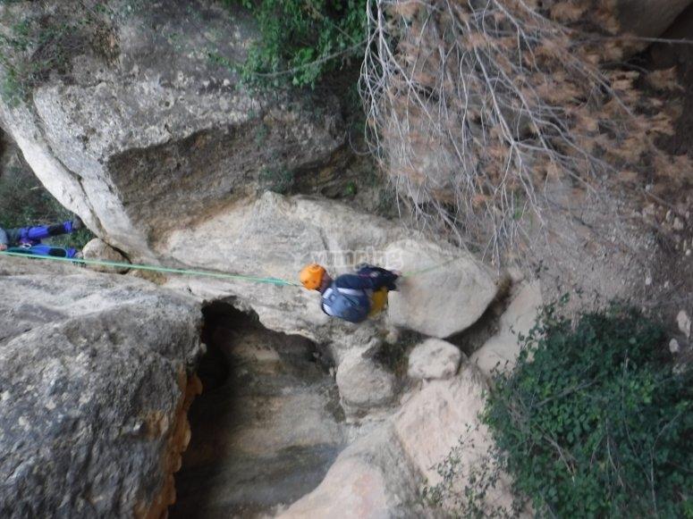Salto del Ciervo nel burrone di Murcia