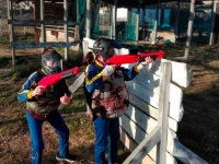 Children's paintball in jaca
