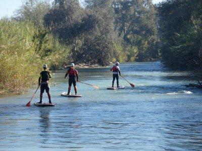 在塞古拉河划桨冲浪Cieza超过2小时