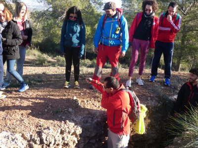 Hiking in Murcia Trenches Route 10km