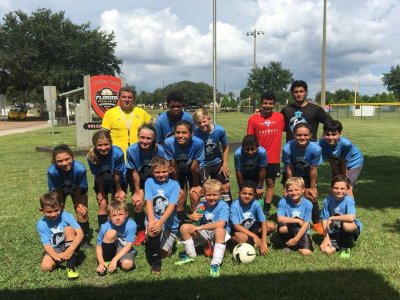 Football campus in the US first fortnight July