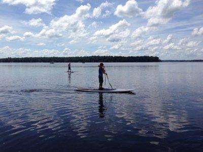 Noleggio di paddle surf al bacino idrico di Benagéber 1h