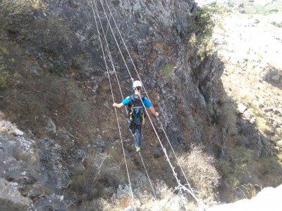 Vía ferrata en Sierra de Gracia, Archidona 4 horas