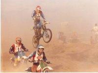 Saltos con las motos