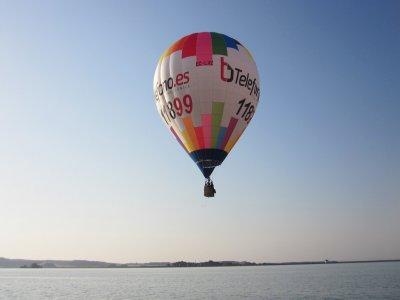 Vuelo en globo para niños por el río Cinca 1 hora