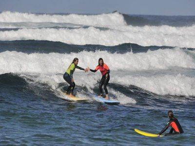 Surf para principiantes Norte de Fuerteventura