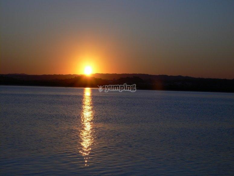 阿亚蒙特的日落
