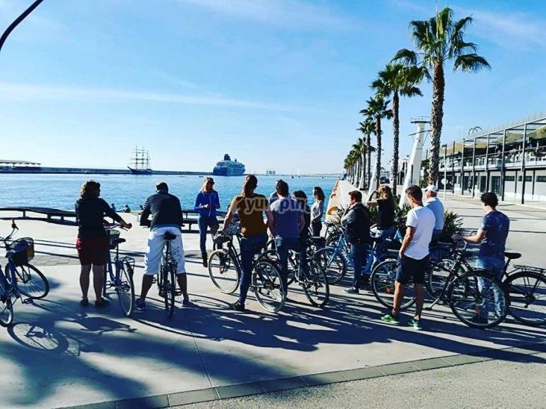 Ruta guiada en bici para grupos