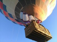 Ascending in the basket