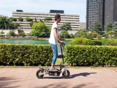 Alquiler scooter eléctrico Mas Palomas 2 horas