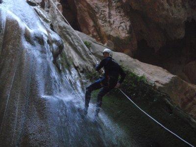 Canyoning e cibo nel bacino idrico di Benagéber
