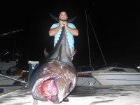 Pesca de Marlín Azul y Atún Gigante en Mazagón 10H