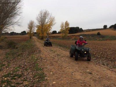 Ruta en quad monoplaza cerca de Cuenca 2 horas