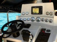 Cuadro de mandos del barco