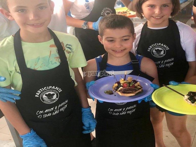 Nuestros pequenos grandes chefs