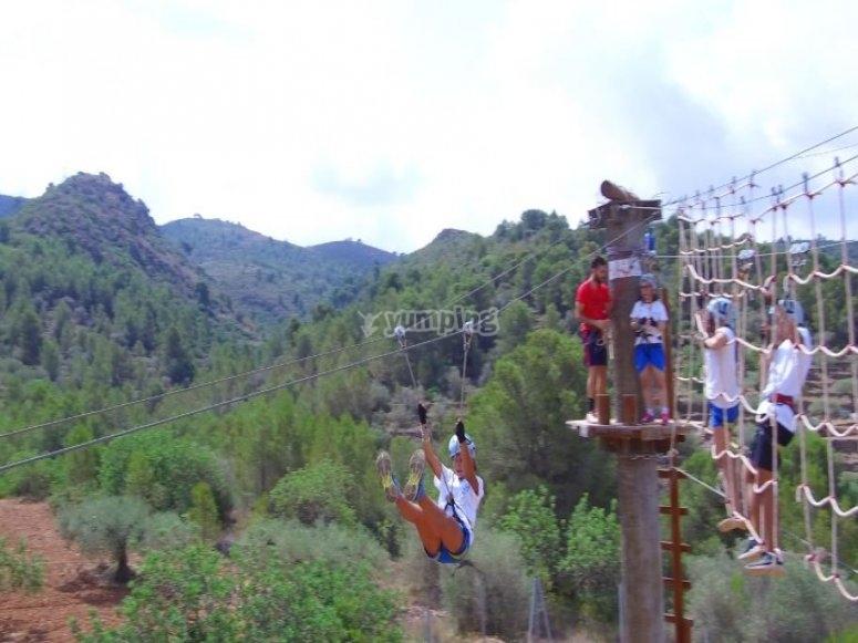Parque de aventuras Castellon