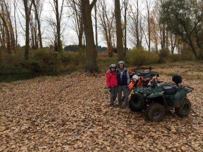 Salida quad biplaza por la Sierra de Cabrejas 2h