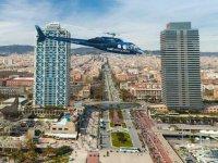 sobrevuela barcelona en helicoptero