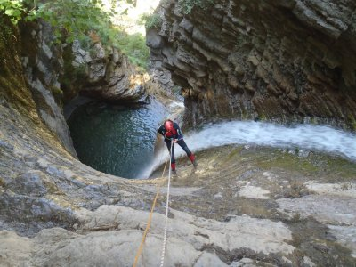 Canyoning for children in Guara and Monte Perdido
