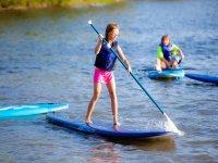 Paddle surf nina