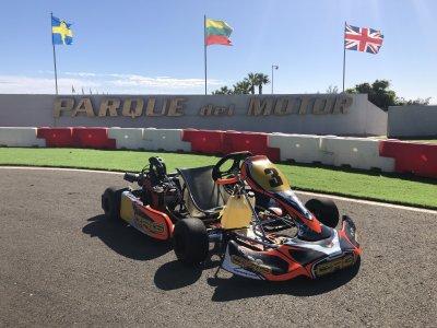 Tanda de 8 minutos circuito de karting Las Palmas