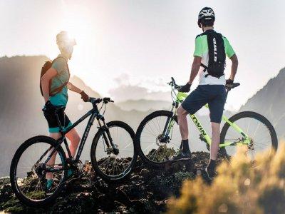 自行车路线Ebike MTB南大加那利岛4小时